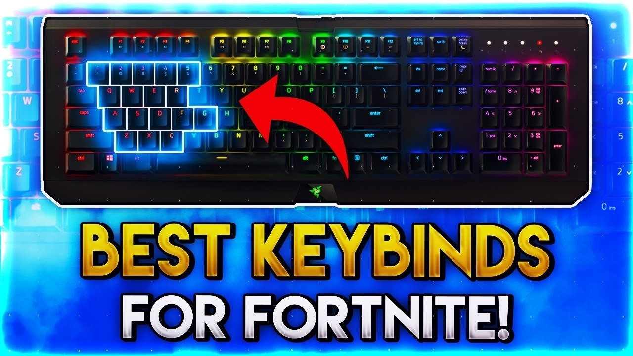 keybinds for fortnite - fortnite controls xbox one keyboard
