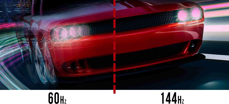 144hz 60Hz difference