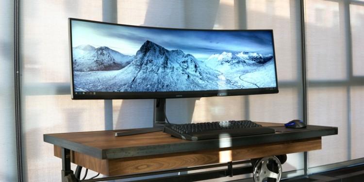 Large Gaming Monitor