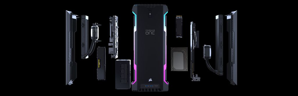 CORSAIR ONE i160 state of the art performance