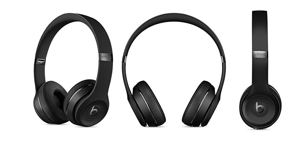 Matte Black Beats Solo3 Wireless Headphones