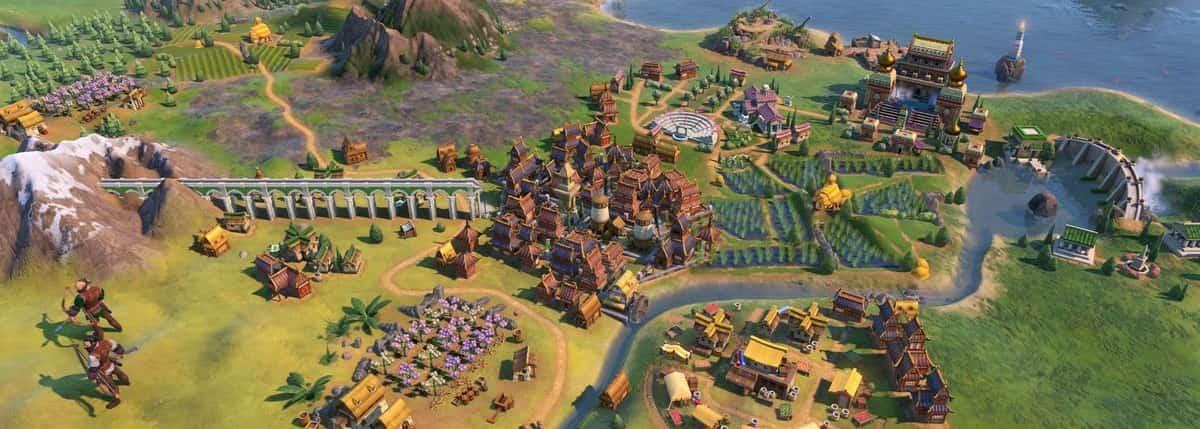 civilization 6 middle age city