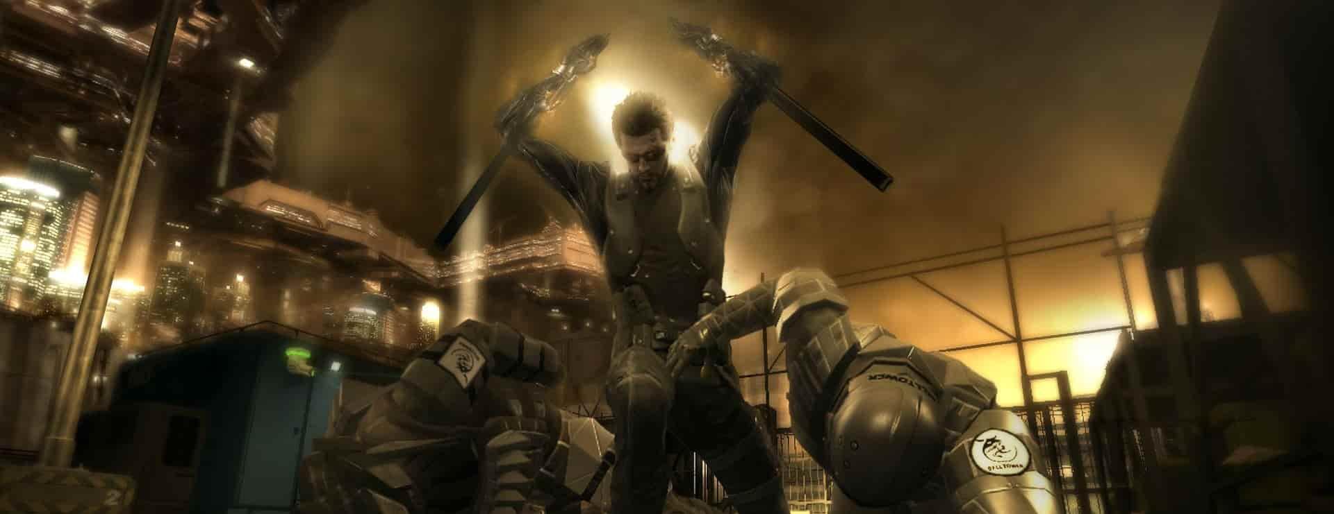 deus ex human revolution combat gameplay