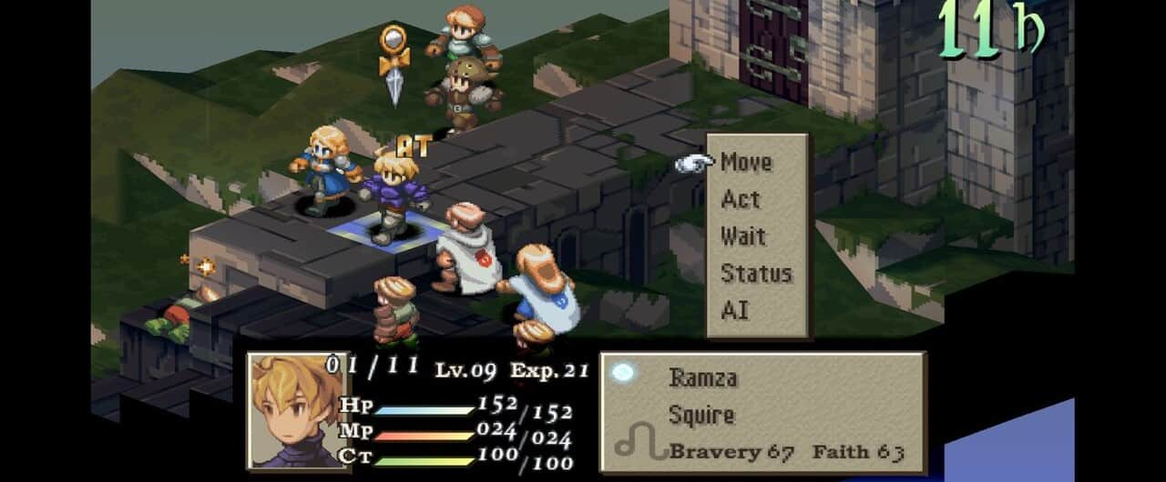 final fantasy tactics gameplay combat