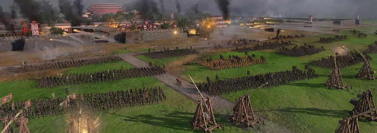 total war arena huge battle