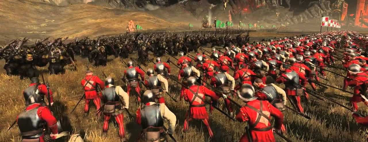 total war armies clashing