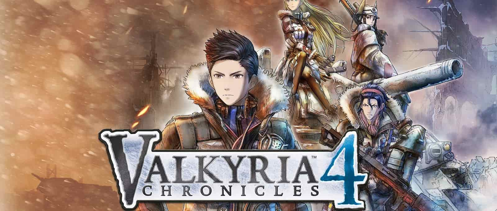 valkyria chronicles 4 opening screen