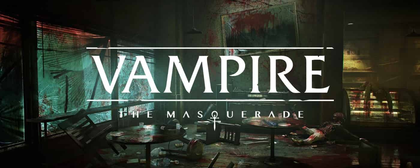 vampire the masquerade title screen