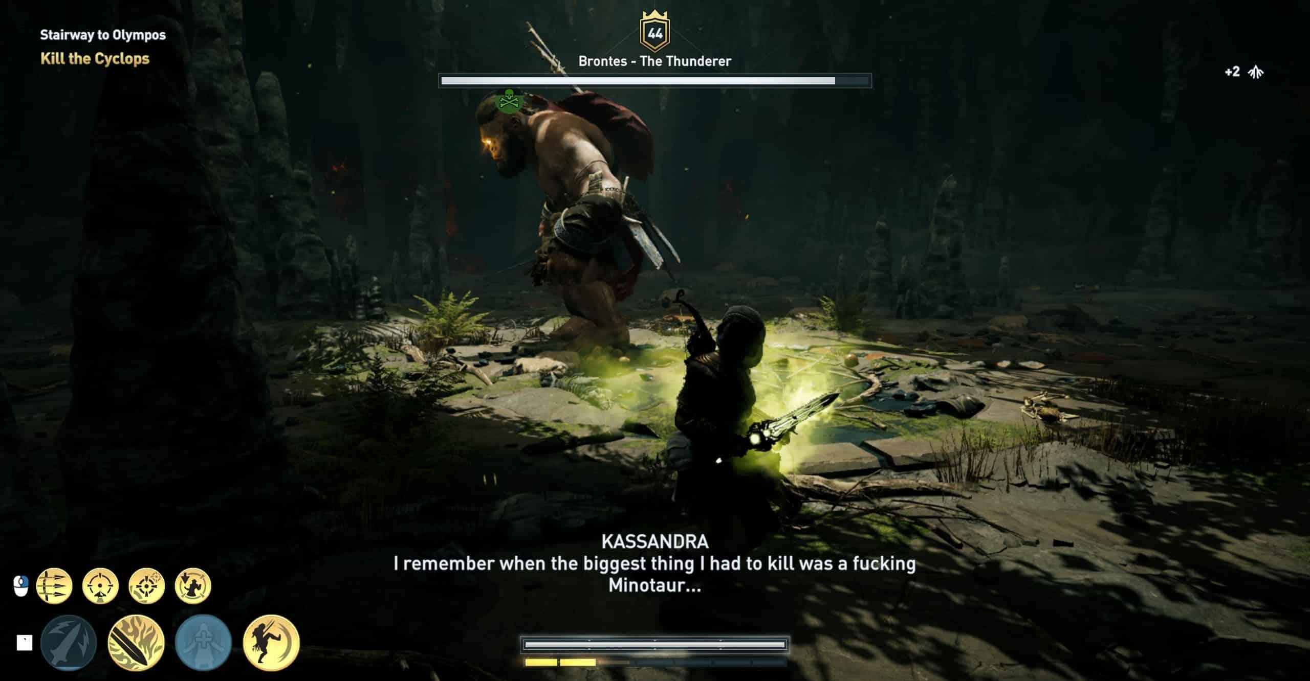 assassins creed odyssey minotaur location
